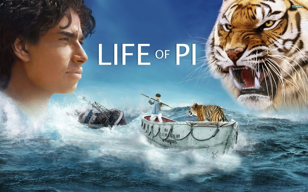 Analysis of characters for Life of pi characterization